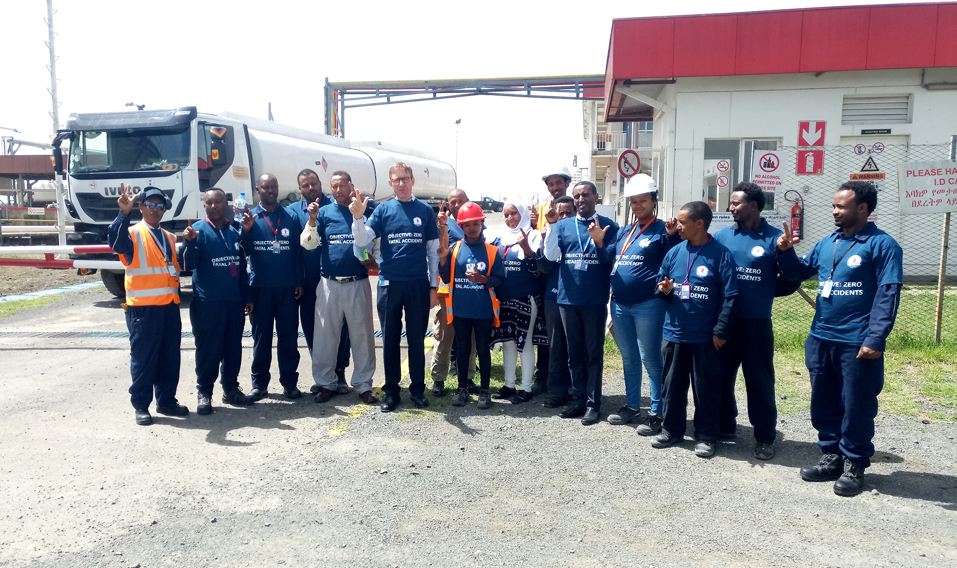 WORLD DAY for SAFETY – TOTAL ETHIOPIA