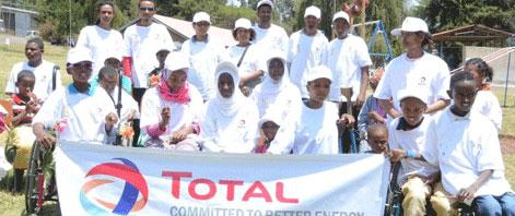 Total Ethiopia Sponsored Cheshire Services Ethiopia
