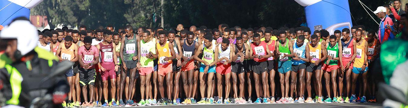 Total Great Ethiopian Run is colorfully held on the 18th of November 2018
