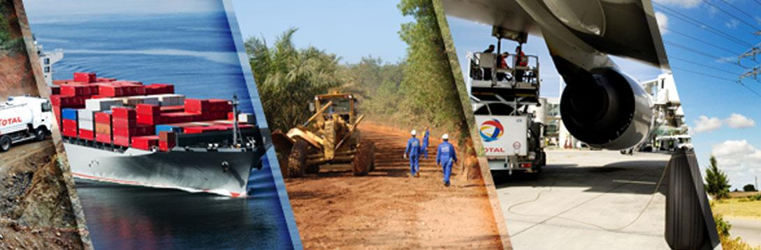 TotalEnergies your business partner, providing a full range of products and services